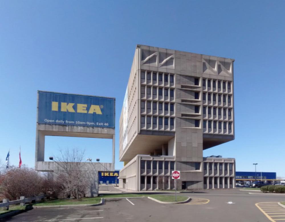 Nulla energiaigényű hotellé változhat az elhagyatott IKEA - épület